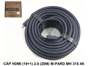 Cable HDMI (19+1) 2.0 20m M-Pard MH315 - 4K