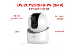 Camera IP Hikvision DS - 2CV2Q21FD - IW (2.0 mpx)