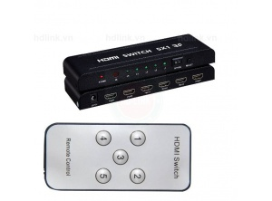 Switch HDMI 5 --1 có remote
