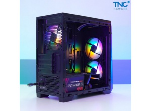 Case Dragon ECS 1201 E-dra (3 fan led sẳn)